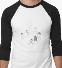Breakfast With Friends Baseballshirt mit 3/4-Arm