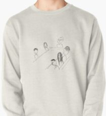 Breakfast With Friends Pullover