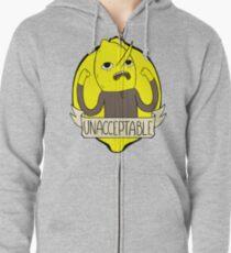 UNACCEPTABLE Zipped Hoodie