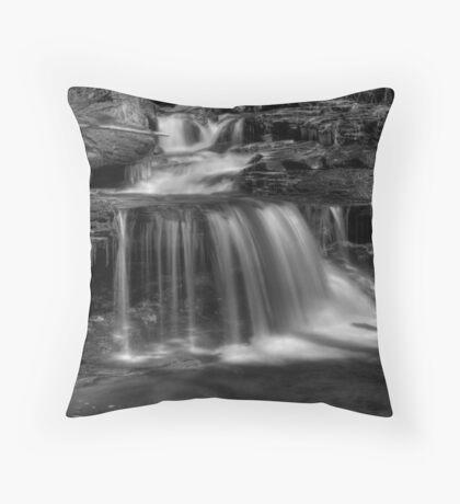 Meandering Cascade Throw Pillow