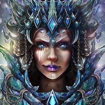 """""""Ice Queen"""" by MoonpixStudios"""