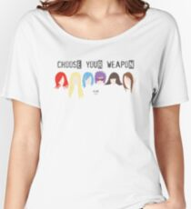 Choose Your Weapon - Alias Women's Relaxed Fit T-Shirt