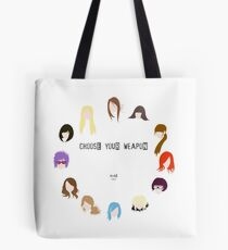 Choose Your Weapon - Alias Tote Bag