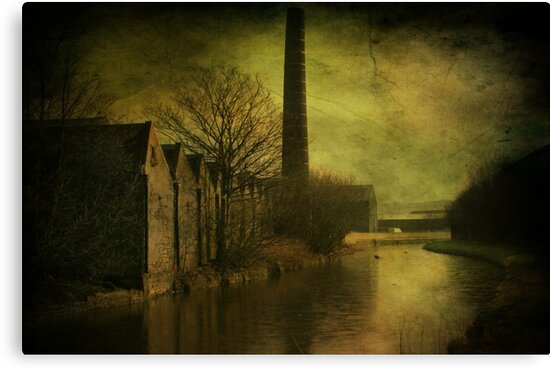 Leeds ,Liverpool Canal.  by Irene  Burdell