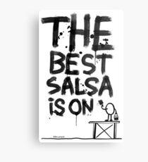 La mejor salsa es on... Lámina metálica