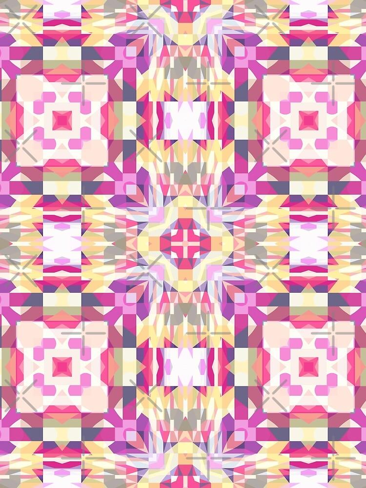 Remix Colorful Mandala 03 by kellydietrich
