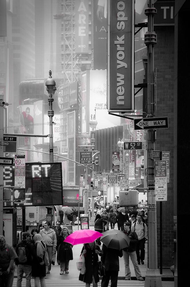 Walking down Broadway by Eric Lam