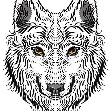 """Wolf"" by MoonpixStudios"
