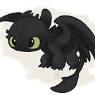 Toothless by liajung