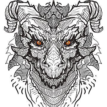 """Dragon"" by MoonpixStudios"