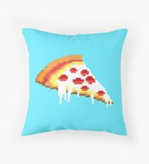 Pizza - 8 bit Throw Pillow