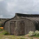 Viking Boat Sheds by Bernadette Watts