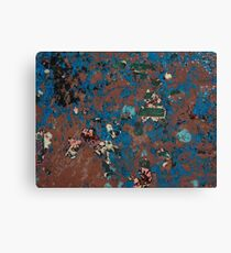 Scrambled dregs Canvas Print
