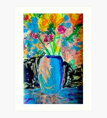 Imagined Flowers Art Print