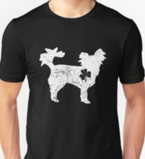 Papillon Shamrock - Dog Lover St Patrick's Day Gifts Unisex T-Shirt