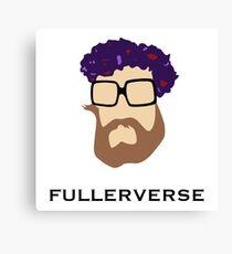 Bryan Fuller Beard & Flower Crown Canvas Print