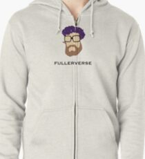Bryan Fuller Beard & Flower Crown Zipped Hoodie