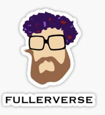Bryan Fuller Beard & Flower Crown Sticker