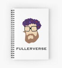 Bryan Fuller Beard & Flower Crown Spiral Notebook