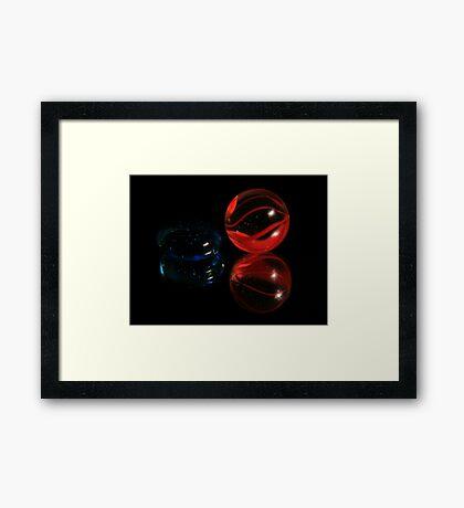 Mr. and Mrs. Marble Framed Print