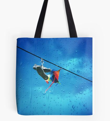Kite and Shoes Tote Bag