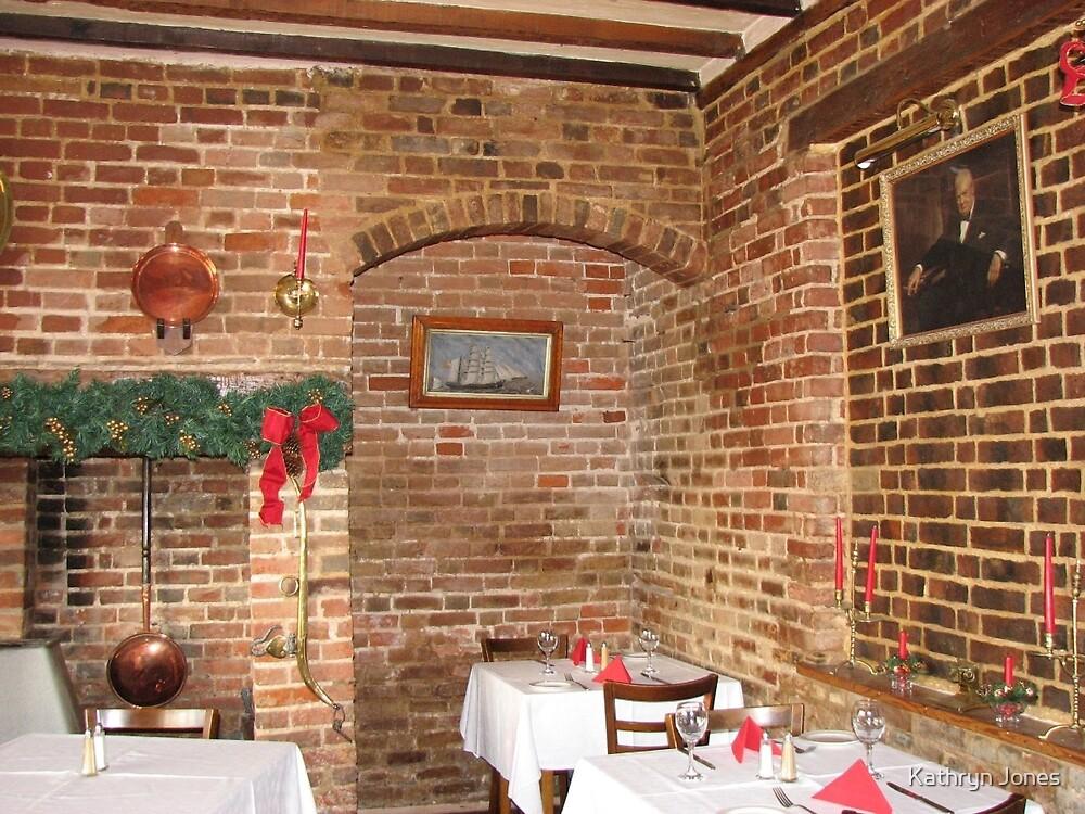 Tudor Dining Room by Kathryn Jones