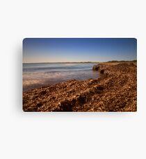 La spiaggia di Vendicari Canvas Print