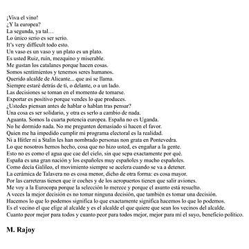 Frases de Mariano Rajoy by qqqueiru