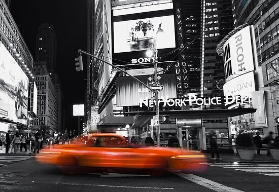 a new york minute by Yelena Rozov