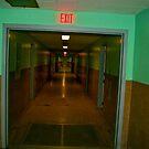 Hospital Hallway 2 by Bobby Rognlien