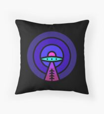 Aliens - Night Ver Throw Pillow