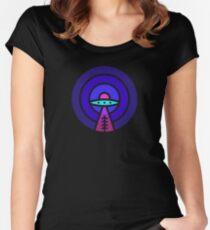 Aliens - Night Ver Women's Fitted Scoop T-Shirt