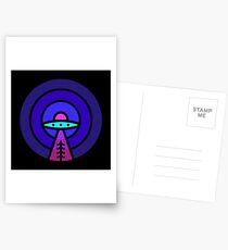 Aliens - Night Ver Postcards