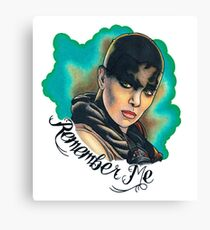 Remember Me Canvas Print