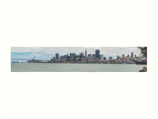 San Francisco Skyline by pendleypictures