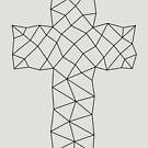 Geometric Cross Design by Kelsorian