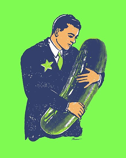 Hold The Pickle - American Oddities #3 by Will Ruocco