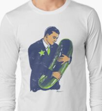 Hold The Pickle - American Oddities #3 Long Sleeve T-Shirt