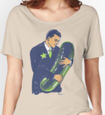 Hold The Pickle - American Oddities #3 Women's Relaxed Fit T-Shirt
