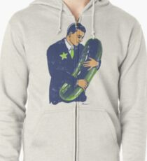 Hold The Pickle - American Oddities #3 Zipped Hoodie