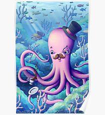 A Fancy Octopus Dilemma Poster