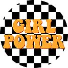 GIRL POWER CHECKERBOARD by Maddison Green