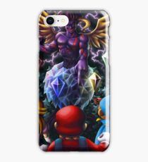 A Challenge from the Dark Knight of Vanda iPhone Case/Skin