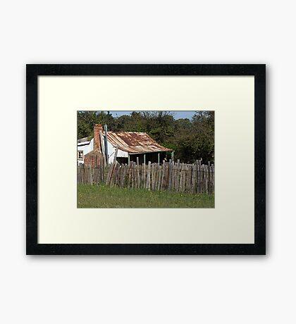 Living Quarters- Hill End Framed Print