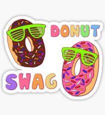 DONUT SWAG Sticker