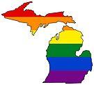 Michigan Pride! by Sun Dog Montana