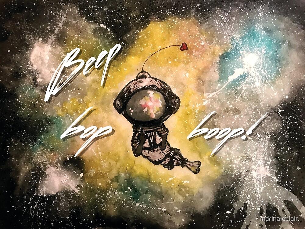 Hey you! Beep Bop Boop! by marinaleclair