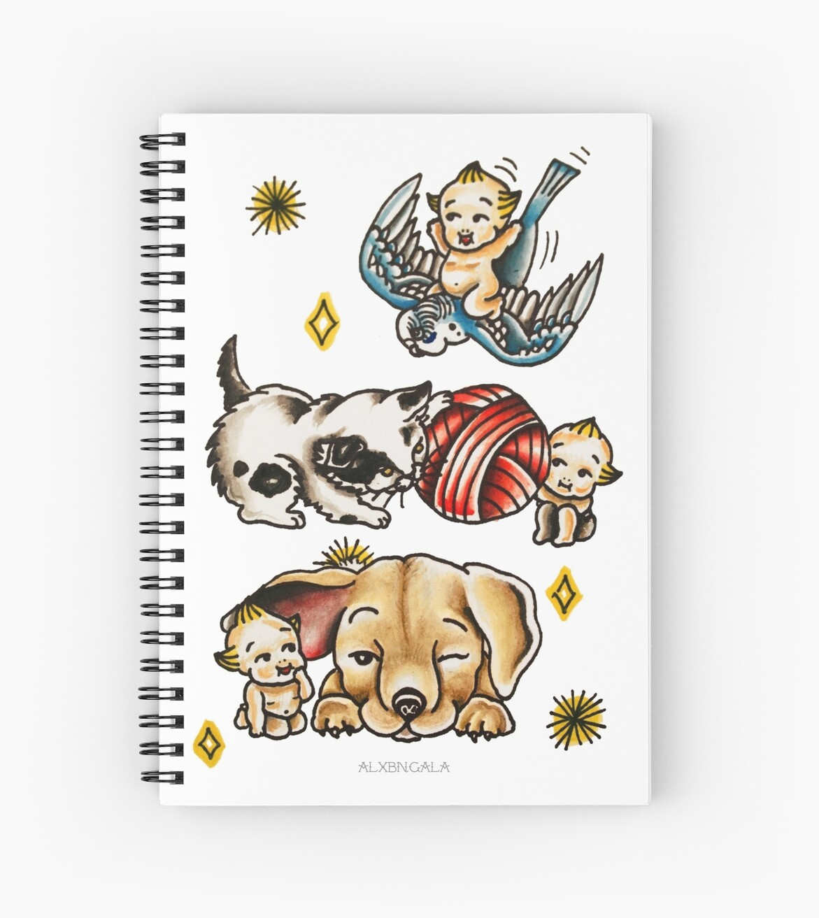 Kewpies & Baby Animals Flash  by alxbngala