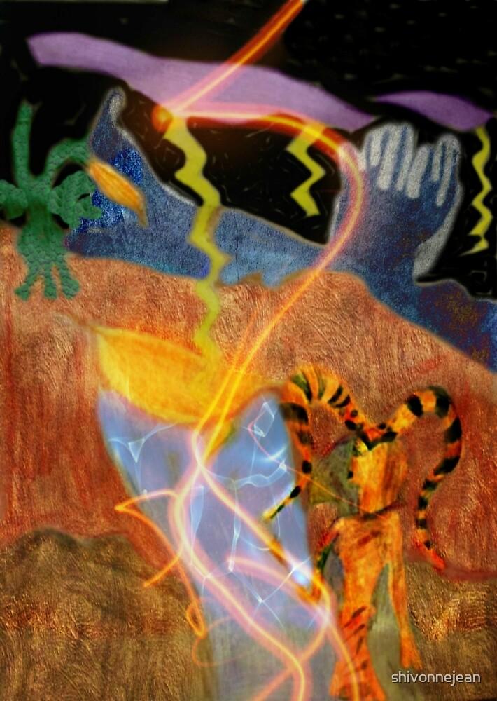 Alien Queen of Dragons by shivonnejean
