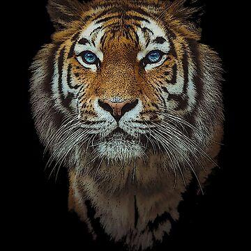 Bengal Tiger Wildlife Gift by Dawncoe